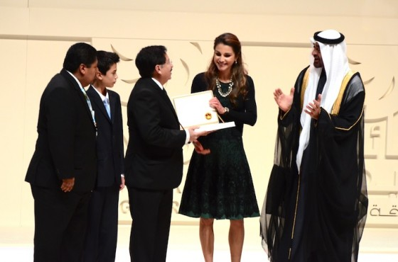 Zayed Future Energy Awards, Queen Rania, Masdar, Abu Dhabi, $4 million Prize, News