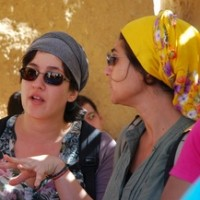 Sara el-Sayed and Betty Khoury egypt eco tours