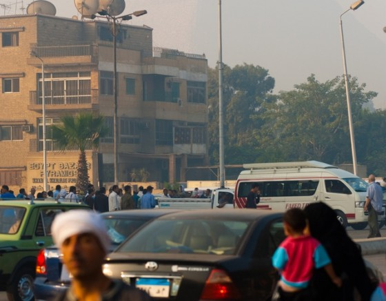 air pollution cairo causes asthma