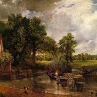 constable haywain painting