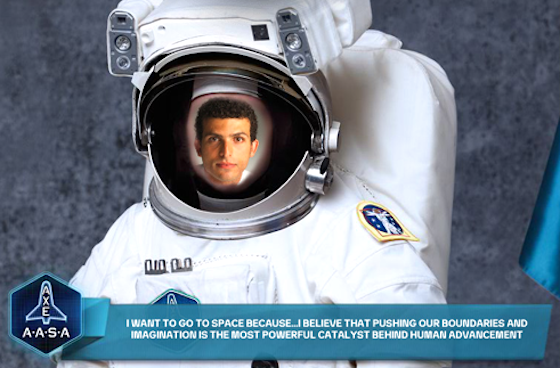Vote to Send the First Egyptian to Space!