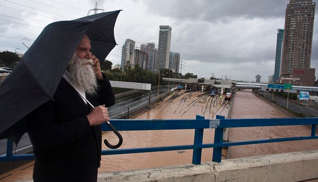 Experts: Tel Aviv Will Flood Again