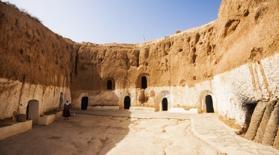 Star Wars Filming Sets In Matmata Tunisia Promotes Desert Tourism For The Berbers Green Prophet