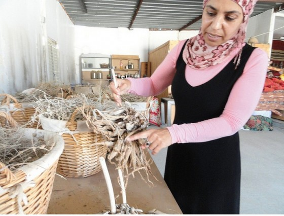 Miriam Aborkeek is a Bedouin woman who did not want her family's natural wisdom to be lost. She makes beauty products the old Bedouin way.