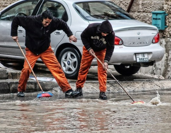 floods in amman jordan