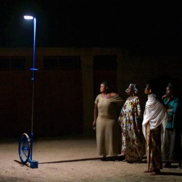 Mali's Life Changing Mobile Solar Lamps are Made From Bicycle Parts