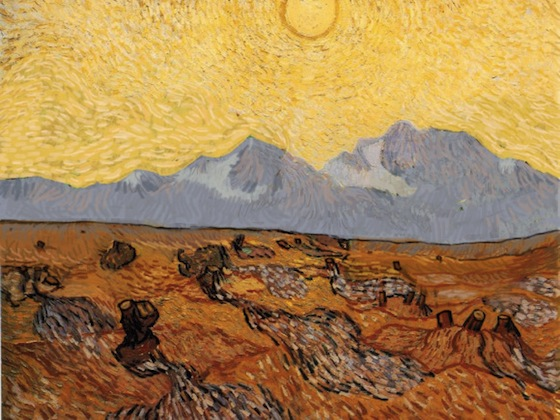 vincent van gogh without trees painting