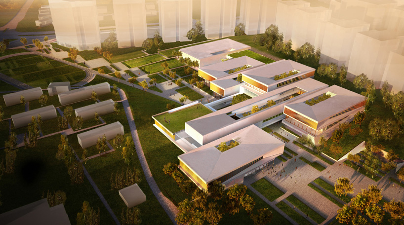 Sustainable Fields of Knowledge Campus Evokes Israel's Agricultural Roots