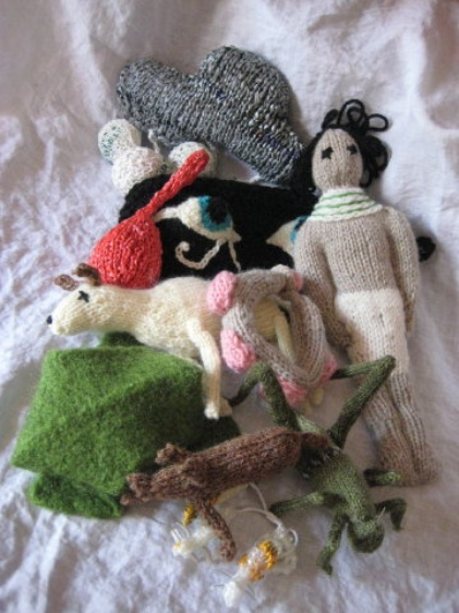 ten knitted plagues israel peace tree