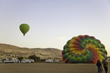 Hot Air Balloon Explosion in Egypt Claims 19 Lives