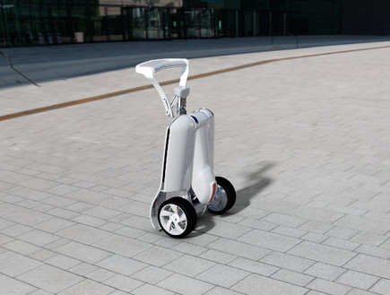 MUV-e folded israel electric scooter