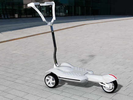 MUV-e's Folding Electric Trolley Goes from Land to Bus to Train