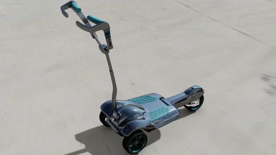 MUVe Folding-electric-scooter-israel