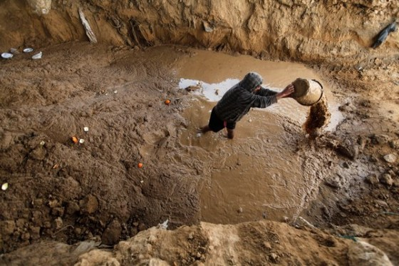 Egypt Flushes Out Gaza Tunnel Diggers With Sewage Green