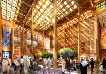 """Abu Dhabi's New Market """"The Souq"""" Harkens Us Back to Disco Days"""