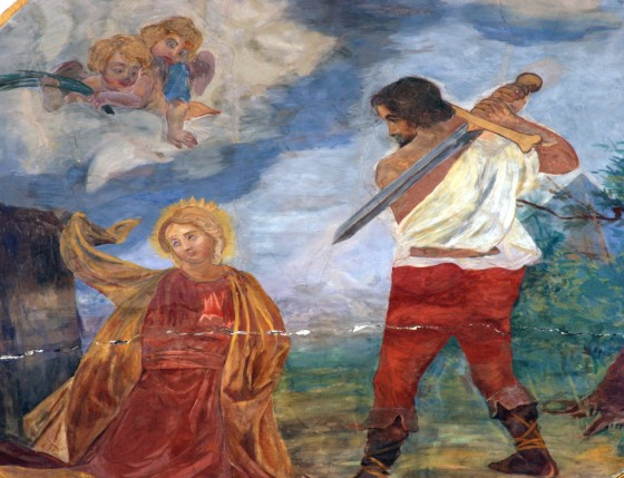Execution by Beheading St. Catherine of Alexandria
