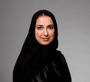 portrait of UAE national woman
