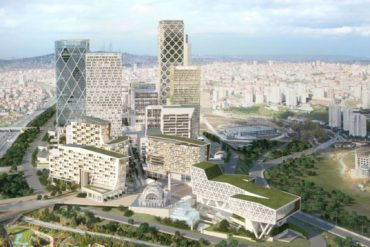 Green-Roofed Istanbul International Financial Center Breaks Ground