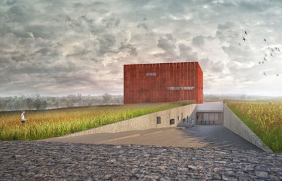 Yalın Mimarlık, Museum of Troy, Turkey, Archaeology Museum, Corten Steel, Weathered Steel, green design, sustainable design, eco-design, green design