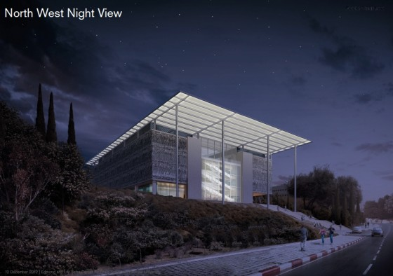 foster-partners-night-hebrew-university-safra-brain-building