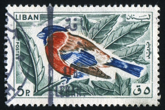 lebanon, stamp, CITES, wildlife, animal conservation, illegal wildlife trade
