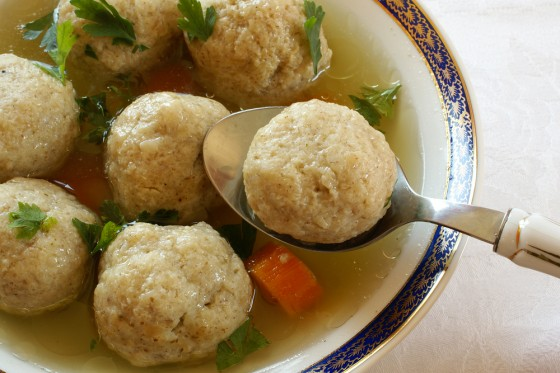 image matzah ball soup