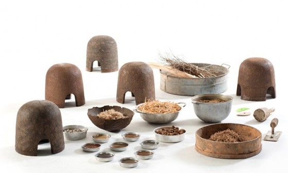 earth, compost, natural materials, green design, Tel Aviv, Terra, furniture