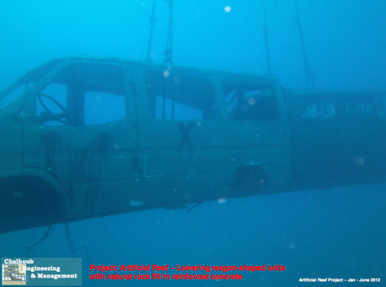 pollution, artificial reef, Lebanon, Mediterranean Sea, army vehicles, war, pollution, coral reef, scuba diving