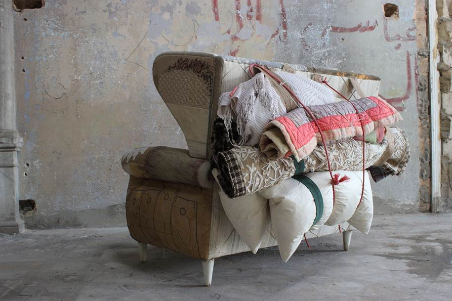 Beirut-Based Bokja Design's Migration Sofa Rocked Milan Design Week