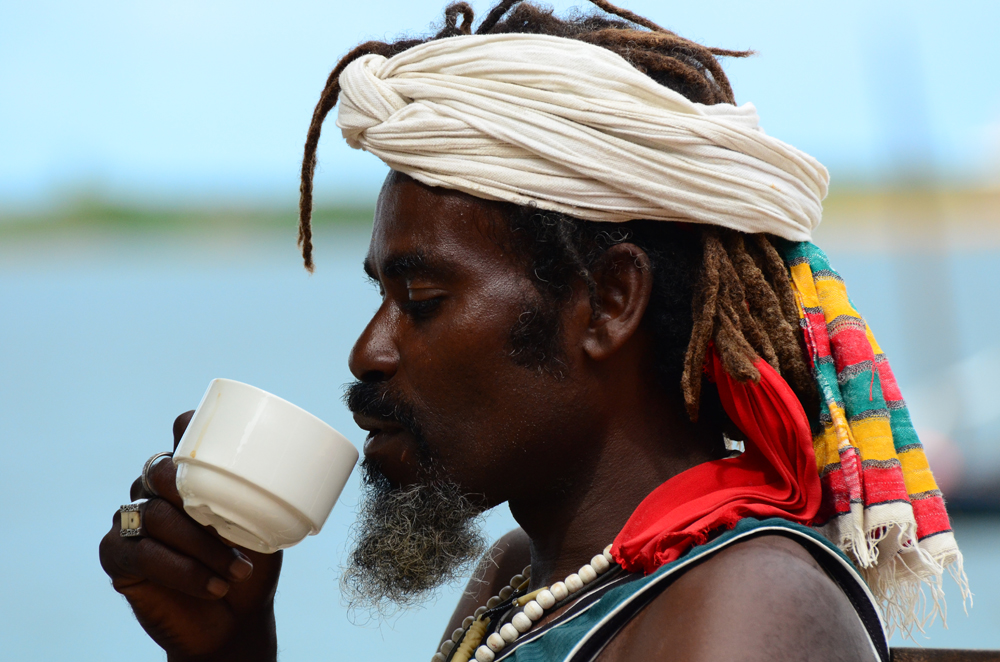 Tafline Laylin, nature, travel, photography, art, eco art, Earth Day, Swahili man, portrait, island, rasta man