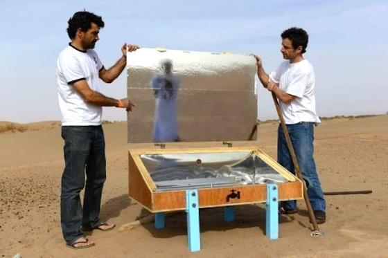 Solar Waterpods Could Help Sahara Nomads Purify Salty Water