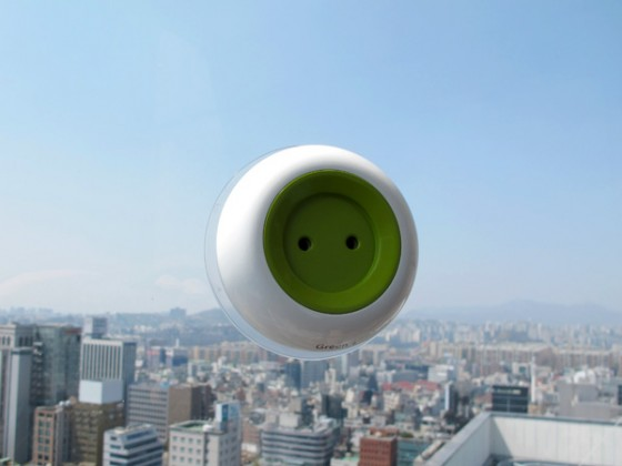Window Socket, Kyuho Song, Boa Oh, green design, electricity, solar panel, clean tech, solar energy, sustainable design