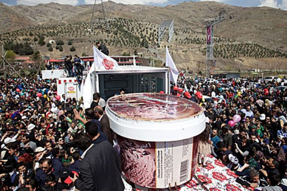 I Scream, You Scream: Iran Targets World Ice Cream Record