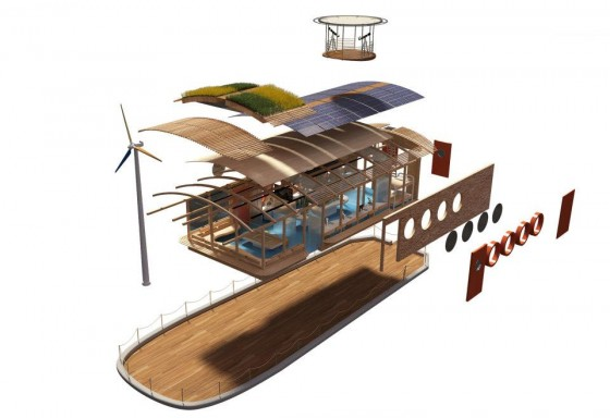 green roof, HEPCA, carbon neutral, green design, solar power, wind power, clean tech, Red Sea, education, US Forest Service