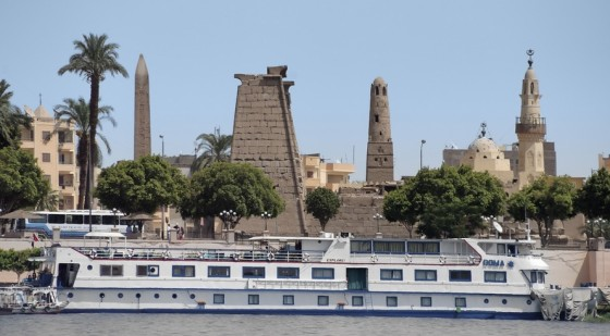 nile cruise, oil spill in Egypt