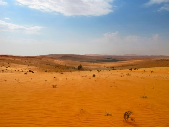 saudi arabia red sand, climate change