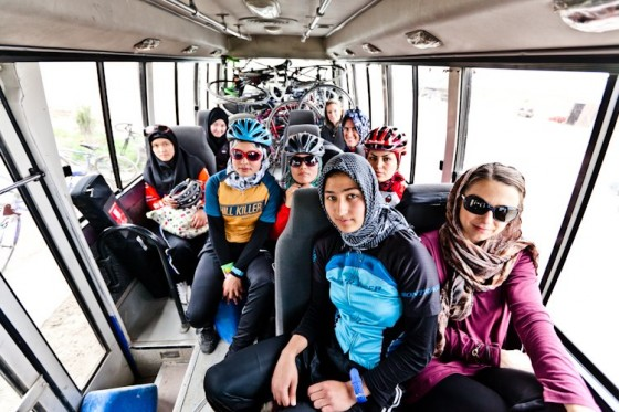Afghan Women's Cycling Team Is Working All Gears