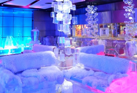 Chillout Cafe Dubai, ice lounge in Dubai, Dubai tourism, travel,