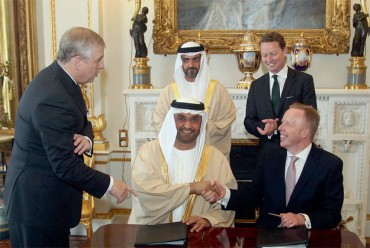 Green Investment Bank and Masdar Ink Agreement to Link Mideast to Britain