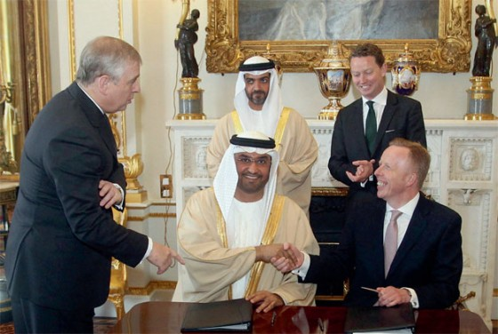 UK Green Investment Bank and UAE's Masdar hope agreement will deliver better solar future.
