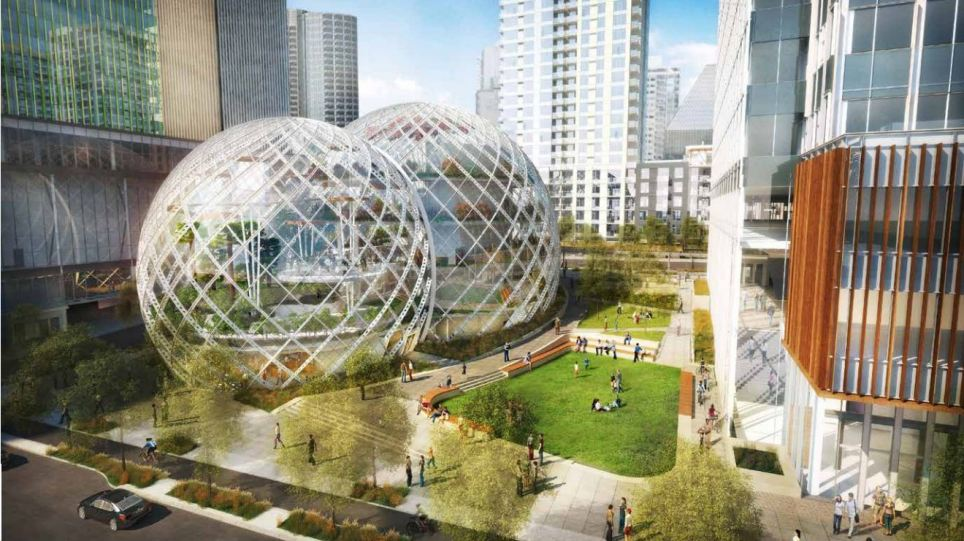 amazon seattle biosphere amazing photo