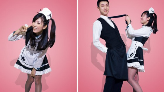 Spring airlines maid and butler costumes