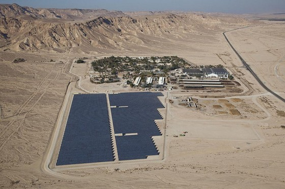Ketura3 solar field by Arava Power Co.