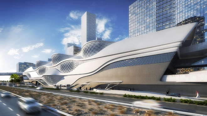 Zaha Hadid Wins Bid for Futuristic Metro Station in Saudi Arabia