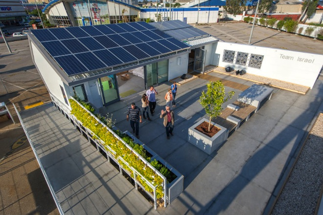 solar decathlon, 2013, china, team israel, ancient israeli design, clean tech, solar power, passive design, green architecture