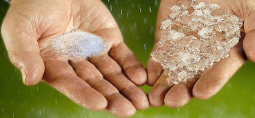 Powdered Water Hydrates Drought-Stricken Farms
