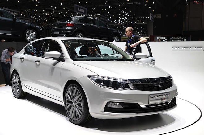 Qoros 3, Geneva Motor Show, Israel Corp, AAM auto supplier, North America, electric vehicles, Dead Sea Works, green transportation