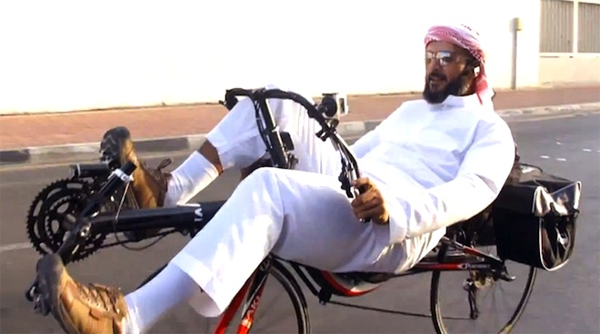 urban cycling, Saudi Arabia, bicycles, desert, Middle East, Video