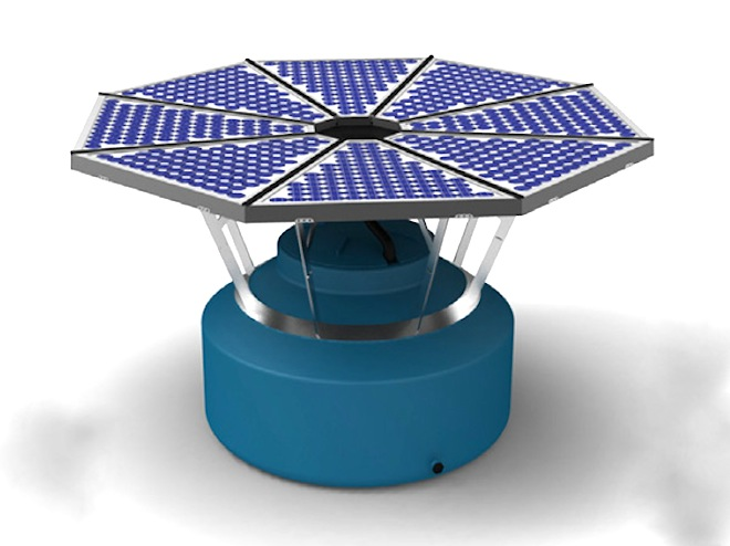 SolarFlow, solar energy, green tech, clean tech, water scarcity, energy shortages, solar for developing countries, water for developing countries