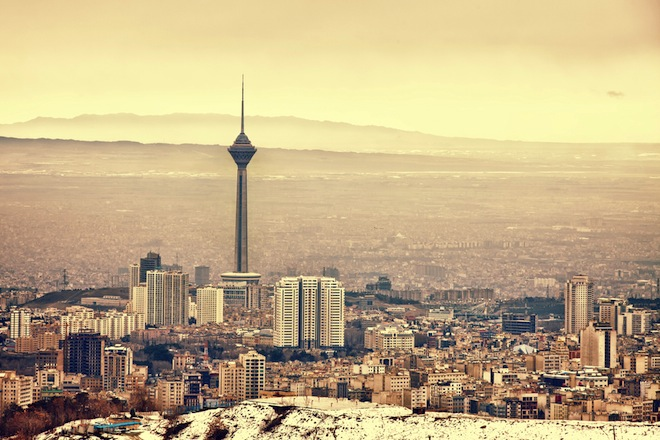 Tehran Skyline, Iran, war, water issues, water scarcity, climate change, global warming, Israel, nuclear, politics